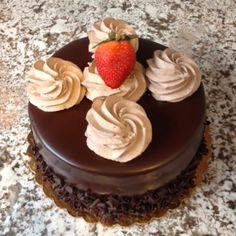 Can't beat a classic chocolate mousse cake