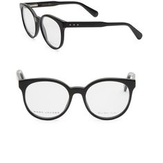Marc Jacobs 48MM Cat s Eye Optical Glasses ( 70) ❤ liked on Polyvore  featuring accessories, eyewear, eyeglasses, clear eye glasses, marc jacobs  eyeglasses, ... 83fc5537ea8c