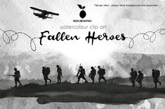 Small Soldiers, Fallen Soldiers, Fallen Heroes, Soldier Silhouette, Anzac Day, War Image, Lest We Forget, Remembrance Day, Memorial Day
