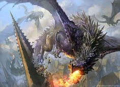 Dragonshift Art