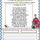 Two original poems in Spanish with many nouns and adjectives. Students read poem and find nouns or adjectives then write two sentences with two nou...