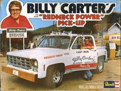 Billy Carter's 'Redneck Power' Pick-Up & Gas Station 1977 http://ift.tt/2kjxOMz