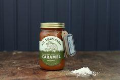 Jacobsen Salt Co. DIY Caramel and Finishing Salt Goat Milk, Toad, Harvest, Caramel, The Originals, Sea Salt, Dandy, Mountain, Gifts