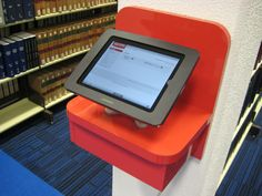 Griffith University Library - iPad kiosk for quick catalogue search (LaunchPad-Sprocket)