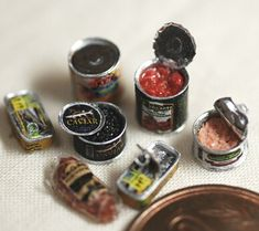 Mini open tin cans