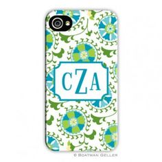 monogramed cell phone case
