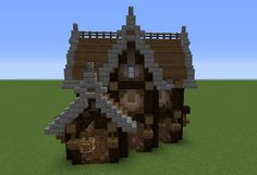 Gothic Tavern - GrabCraft - Your number one source for MineCraft buildings, blueprints, tips, ideas, floorplans!