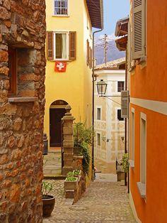 The village of Morcote - Morcote, Ticino, Switzerland Copyright: Kris Verhoeven