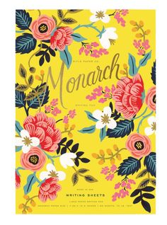 Birch Monarch Writing Pad