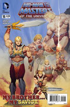 #HeMan and the Masters of the Universe The Origin of She-Ra #Comics https://www.facebook.com/DevilComics