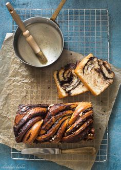 Chocolate Babka With Mascarpone Recipe — Dishmaps