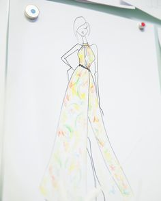 Dreaming of something light and breezy for summer in all the heat. #sketchoftheday @shopmilesdavid  @codybess