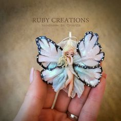 "87 Likes, 3 Comments - Ruby creations (@ruby_creations) on Instagram: ""After long 4 months, finally something new from me! Hope you like it :) #butterfly #fairy…"""