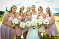 Successfully Mismatched Bridesmaids Dresses