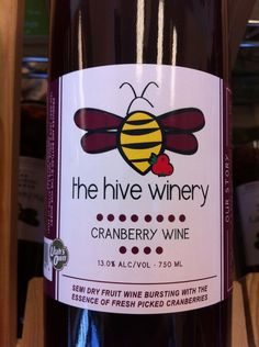 celebrate Thanksgiving with Utah products: cranberry wine from The Hive Winery and sundried cranberries from Allgood Provisions
