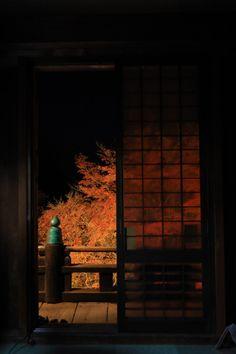 Balcony and trees at Tanba, Hyogo, Japan: photo by mptfk.
