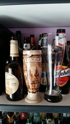 La mia piccola collezione di bottiglie di birra..