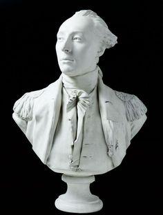 Bust of Marquis de Lafayette (1780s) by Jean-Antoine Houdon