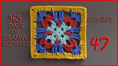 Hashtag #YARNutopia and #365DaysofGrannySquares in your photos!! View all Granny Squares: http://yarnutopia.com/365-days-of-granny-squares/ Teacher: Nadia Fu...
