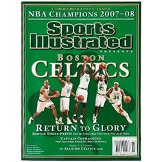 Boston Celtics 2007-2008 NBA Champions Sports Illustrated Commemorative Edition