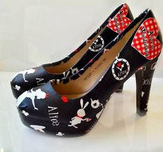alice in wonderland heels - Google Search