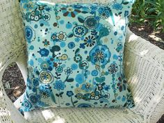 Pillow Cover  Every Which Way Bouquet  20 x 20 by InFullBloomCo, $26.00