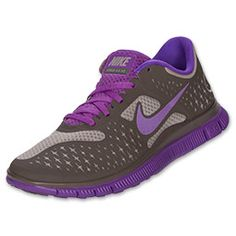 Womens Nike Free 5.0+ Breathe Running Shoes| FinishLine.com | Violet Force/White/Purple-I WANT!!!!
