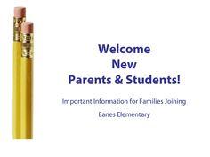 new-parent-orientation0910 by EanesElementaryPTO via Slideshare