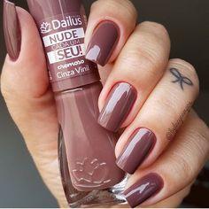 Nails | Dailus Cinza Vinil