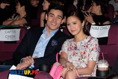 Kim Chiu was full support to Xian Lim when she attended the Celebrity Night of the movie Paddington where Xian Lim was the voice of the main character, the bear named Paddington. The movie premiere...