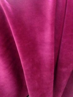 Fuchsia Pink Velvet Fabric Width 57 Material by CushionsandMore Velvet Material, Velvet Cushions, Cushion Fabric, Pink Velvet, Pink Fabric, Colorful Interiors, Trending Outfits, Fabrics