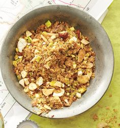 "Nutty Breadcrumbs  ""Put some crumbs on the Summer Veggie Medley, then store the rest, sprinkle these on everything."""