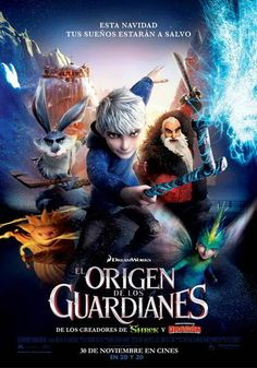 ver El origen de los guardianes 2012 online descargar HD gratis español latino subtitulada