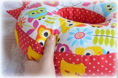 Купить Буква-подушка Совушки - буква подушка, буквы подушки, мягкие буквы, буквы из ткани