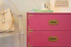 Project Nursery - Magenta Campaign Dresser