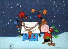 The Perfect Little Tree - Bill Melendez' hand painted PEANUTS Limited Edition Cels