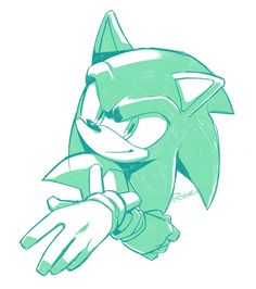 Sonic by Rine on Twitter