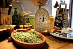 Zuppa Gallurese fertig für den Ofen