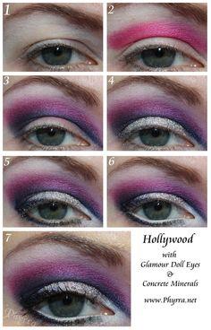 Hollywood Glamour Eye Inspiration Makeup Tutorial #makeup #eyeshadow