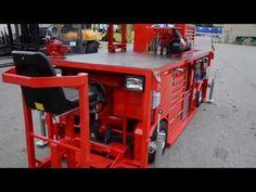 Custom Tool Box / Work Station c/w 48v Club Car Drive System by Porcellato Engineering. - YouTube