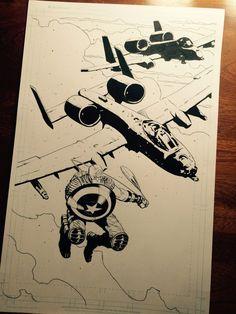 Captain America  by BrentMcKee.deviantart.com on @DeviantArt