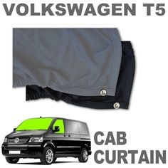 VW T5 Curtain Kit - Cab - Windows
