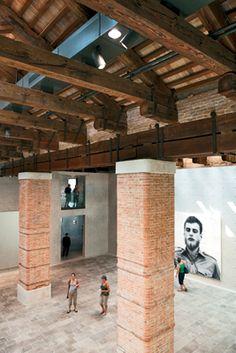 Punta della Dogana Contemporary Art Centre, Venice, Italy by Tadao Ando Architect & Associates