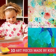 10 Beautiful Art Pieces That Kids Can Make | Spoonful