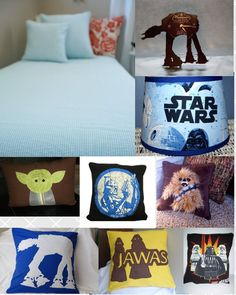 Bill will want this for Julian - Super Hip Star Wars room for kids