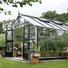 Juliana Gardener Greenhouse (12ft x 16ft) - Garden Buildings - Thompson & Morgan