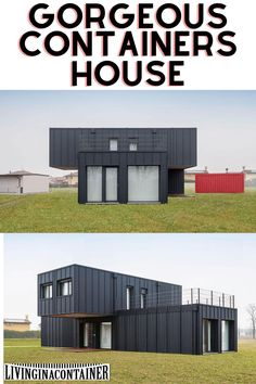 Cargo Container Homes, Container House Plans, Container House Design, Shipping Container Cost, Shipping Container Buildings, Container Architecture, Backyard Seating, Parking, Home Design Plans