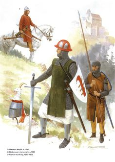 German Medieval Armies 1000–1300 - Late 13th Century.