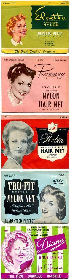 Vintage hair nets o