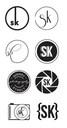 Nicole Esche Graphic Design Milwaukee, Logo Design nicoleesche.com, Photography Logo, Sherry Kysley